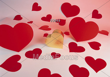 love affection symbols Stock Photo