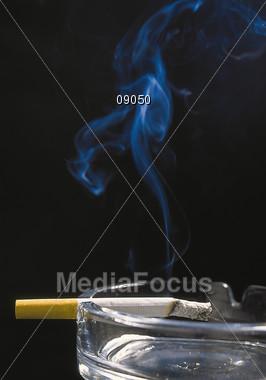cigarettes ashtray smoking Stock Photo