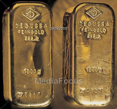 goldbars backgrounds money Stock Photo