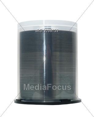 100 Cake Box Discs Stock Photo