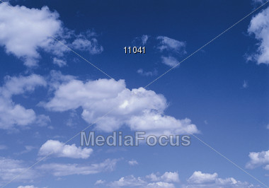 clouds moon eclips Stock Photo