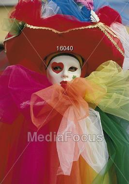 mardi gras costumes Stock Photo