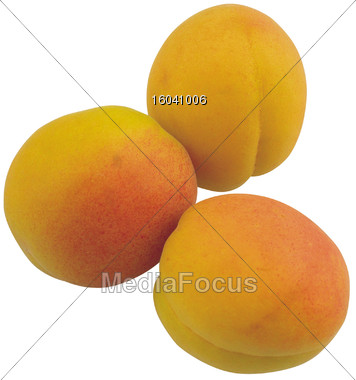 fruits apricots produce Stock Photo