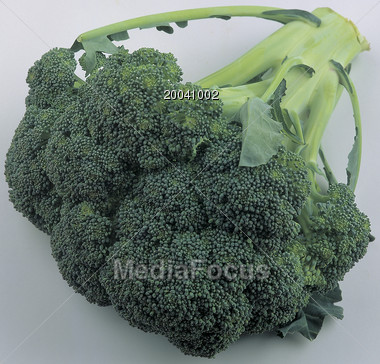 green vegetables broccoli Stock Photo