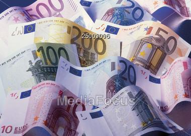currencies european Deutsche Stock Photo