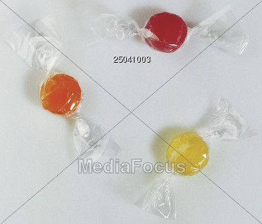 popcorn lolli gummy Stock Photo