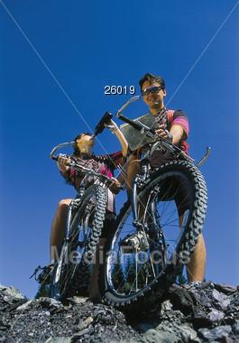 mountain male sport Stock Photo