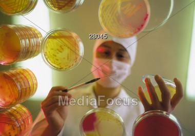 technician profession male Stock Photo