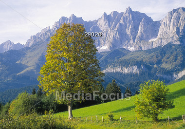 countryside hill mountain Stock Photo