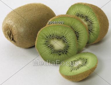 kiwi fruits tropical Stock Photo