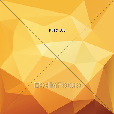 3 D Geometric Abstract Background. Vector Illustration Stock Photo