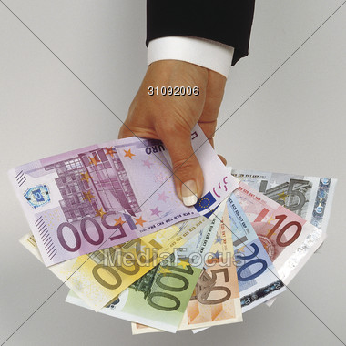european banking EURO Stock Photo