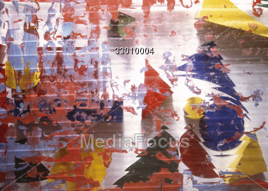 abstract creative colorful Stock Photo