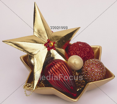 holiday xmas decoration Stock Photo
