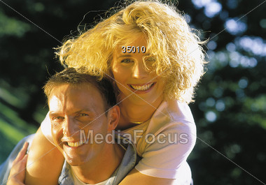 poses white happiness Stock Photo