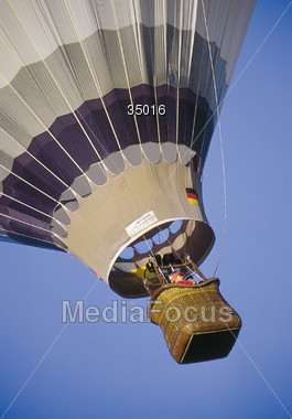 sports hot air Stock Photo