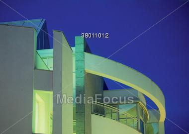 penhouse modern structure Stock Photo