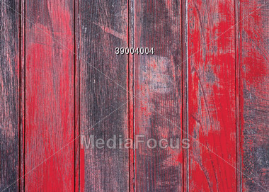 planks fence old Stock Photo