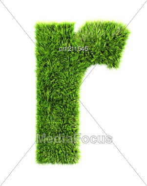 3d grass letter r stock photo cr1211545 3d grass letter r stock photo thecheapjerseys Image collections