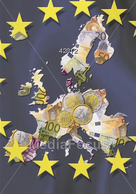 european EURO foreign Stock Photo