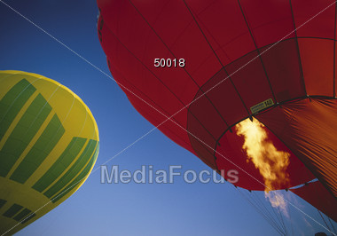 sports hot aerial Stock Photo