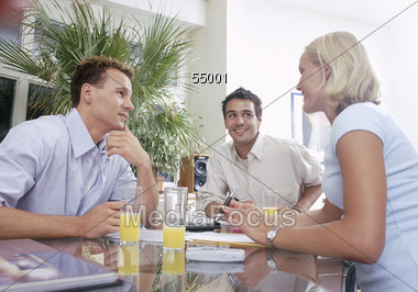 creative people account-management Stock Photo