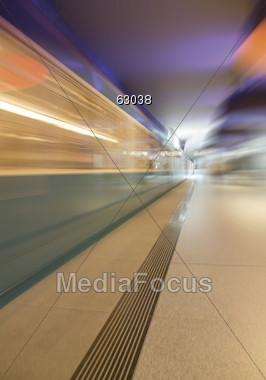 lit speed stations Stock Photo