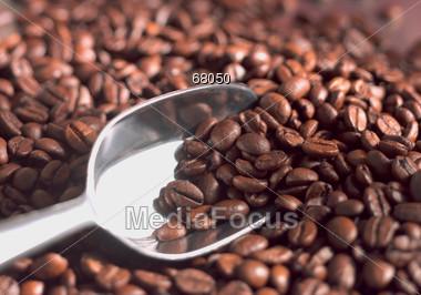 joe beans scoop Stock Photo