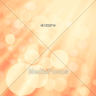 Abstract Art Backgrounds With Beauty Bokeh For Your Design Stock Photo