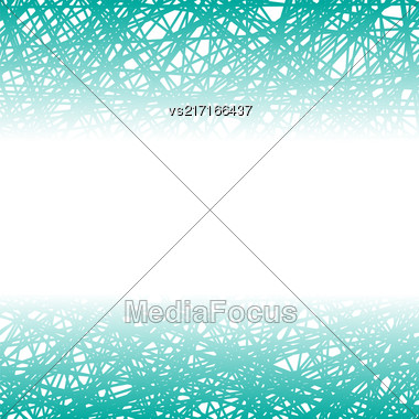 Abstract Azure Line Background. Grunge Azure Line Pattern Stock Photo