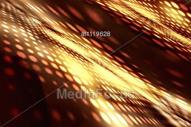 Abstract Background - Blurred Light Stock Photo