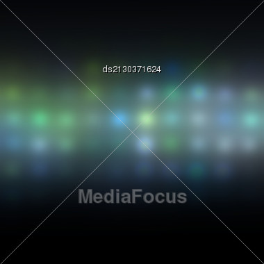 Abstract Background Dots And Colored Spots Of Light Stock Photo