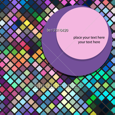 Abstract Background In Vector Format Stock Photo