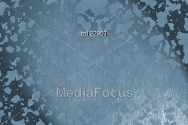Abstract Background With Blue Pattern. Stock Photo