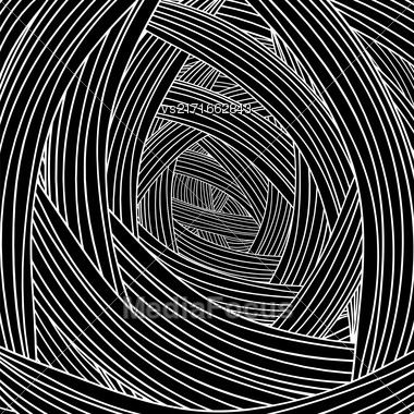 Abstract Black Wave Background. Abstract Wave Pattern Stock Photo