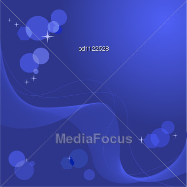 Abstract Blue Background Wave And Boke - Image OD1122528 - Abstract