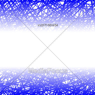 Abstract Blue Line Background. Grunge Blue Line Pattern Stock Photo