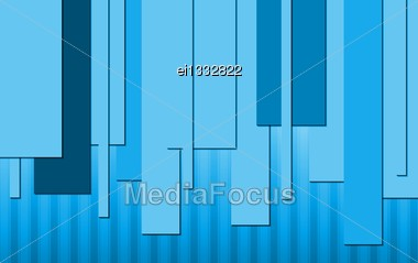 Abstract Blue Technical Background. Vector Design Eps 10 Stock Photo