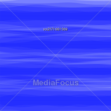Abstract Blue Wave Background. Blue Water Background Stock Photo