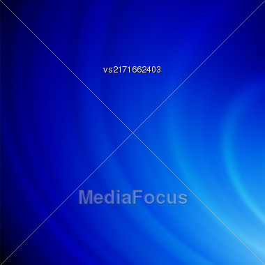 Abstract Blue Wave Background. Blurred Blue Pattern Stock Photo