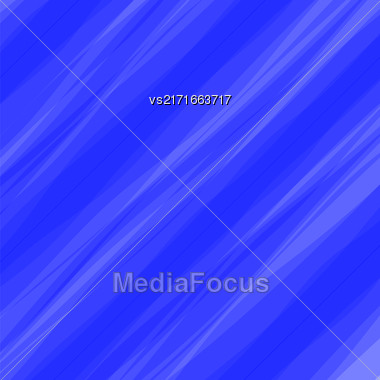 Abstract Blue Wave Background. Diagonal Blue Water Background Stock Photo