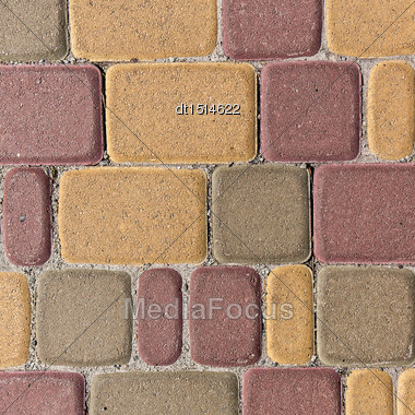 Abstract Brick Pattern For Your Design Stock Photo