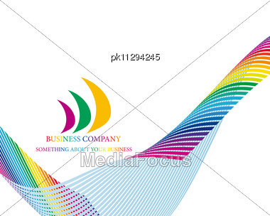 Abstract Business Metaphor Theme Stock Photo