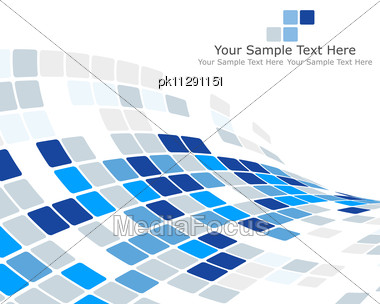 Abstract Checked Business Background For Use In Web Design Stock Photo