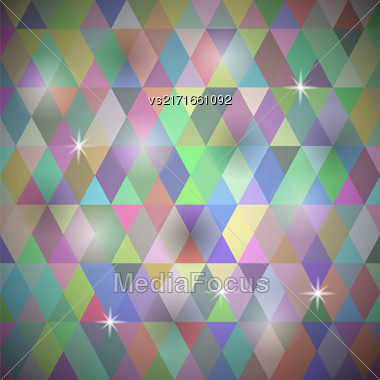 Abstract Colorful Background. Multicolored Geometric Retro Pattern Stock Photo