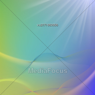Abstract Colorful Blurred Background. Abstract Blurred Pattern Stock Photo