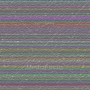 Abstract Colorful Line Background. Abstract Line Pattern Stock Photo