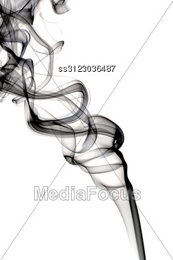 Abstract Dark Smoke Stock Photo