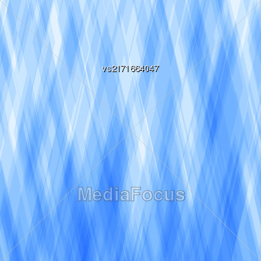 Abstract Diagonal Background. Blue Mosaic Pattern. Design For Banner, Poster Stock Photo