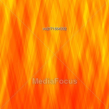 Abstract Diagonal Background. Orange Mosaic Pattern. Design For Banner, Poster, Leaflet Stock Photo